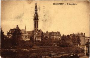 CPA GRONINGEN St. Josephkerk NETHERLANDS (604218)