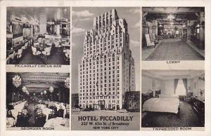 Multiples Photo Hotel Piccadilly New York City New York 1938