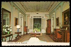 Entrance Hall at Beauvoir