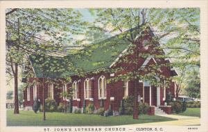 St. John's Lutheran Church, Clinton, South Carolina, 30-40s