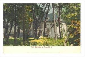Fort Johnson, Akin, New York, Pre-1907