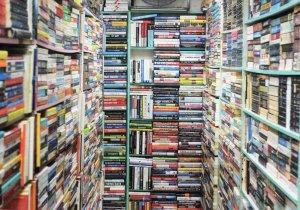 Evernew Bookstore Bras Basah Singapore Book Shop Postcard
