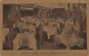 Illinois Chicago Morrison Hotel Boston Oyster House