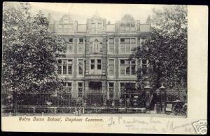 london, CLAPHAM COMMON, Notre Dame School (1908)