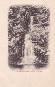 DORKING, England, 1900-1910's; Tillingbourne Waterfall