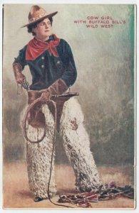 Cowgirl w/ Buffalo Bill's Wild West Show , 00-10s