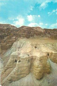 Postcard Jordan Qumran Caves