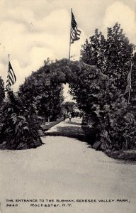 Rochester, New York - The Entrance to the Subway - Genesee Valley Park - c1908