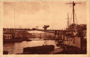 CPA BREST - Le Pont National (650327)
