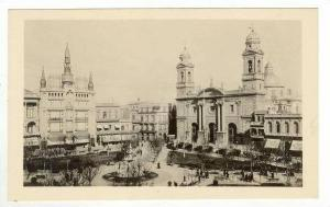 RP (#H-109), URUGUAY - Montevideo. Cathedral & Plaza de la Republica, Pre-1907