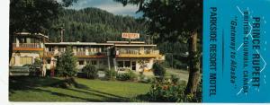 PRINCE RUPERT , B.C. , Canada , 50-60s ; Parkside Resort Motel