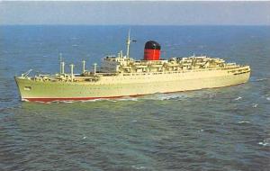 "S.S.  ""Carmanie""     Cunard Line"