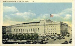 Public Auditorium Cleveland OH Unused