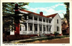 Supreme Court Justice James Iredell Home Edenton NC Vintage Postcard P22