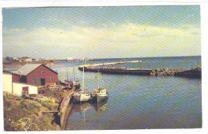 La Gaspesie, Fishing Boats, Fishermans Harbour, Grande Riviere, Quebec, Canad...