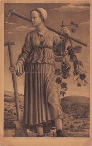 Muse Polyhymnia anagoria, Allegorie des Herbstes, Francesco del Cossa
