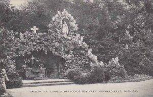 Michigan Orchard Lake Grotto SS Cyril And Methodius Seminary Artvue
