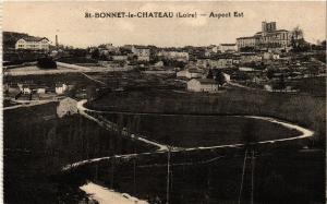 CPA St-BONNET-le-CHATEAU Aspect Est (687954)
