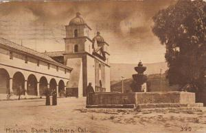 SANTA BARBARA, California, PU-1915; Mission Santa Barbara