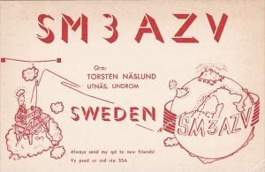 Sweden SM3AZV Torsten Naslund