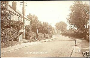 surrey, DORMANSLAND, High Street (1920s) RPPC