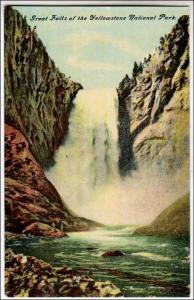 Great Falls, Yellowstone Park