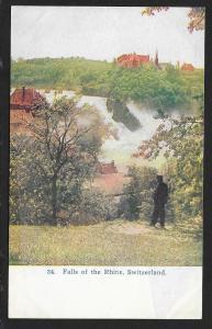 Falls of the Rhine SWITZERLAND Unused c1910s