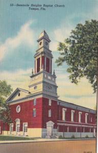 Florida Tampa Seminole Hieghts Baptist Church Curteich