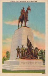 Virginia State Memorial Gettysburg Pennsylvania