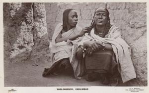 RP: OMDURHAM , Sudan , 1910-30s ; Hair-Dressing