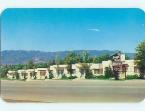 Unused 1950's RANGE VIEW MOTEL Colorado Springs Colorado CO u3305@