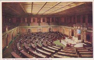 Washington DC Hall Of Representatives Capitol