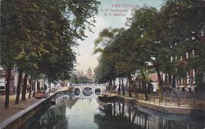 Amsterdam , Netherlands, 00-10s ; O.Z. Voorburgwal b.h. Stadthuis