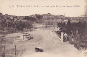Entree Du Parc- Pont De La Boucle Et Coteau St-Clair, Lyon (Rhone), France, 1...