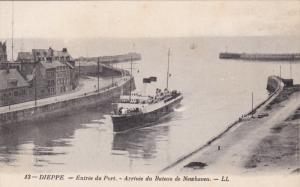 DIEPPE, Seine Maritime, France; 00-10s , Entree du Port