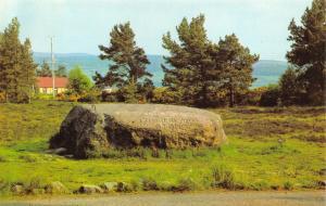 Scotland Postcard The Cumberland Stone, Culloden Moor R39