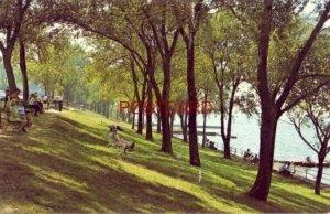 LAKE VIEW PARK, LORAIN, OHIO view of Lake Erie