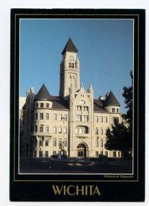 Postcard WICHITA Kansas Sedgwick County Historical Museum Continental View Card