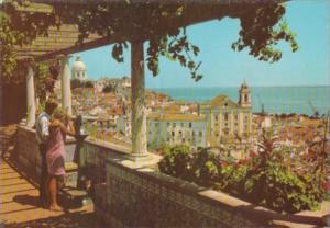 Portugal Lisboa Saint Luzia Watchtower Alfama