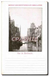 Postcard Old Country Holland View of Dordrecht