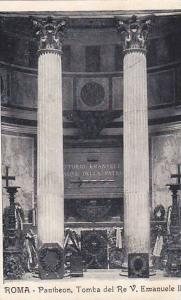 Pantheon, Tomba Del Re V. Emanuele II, Roma (Lazio), Italy, 1900-1910s