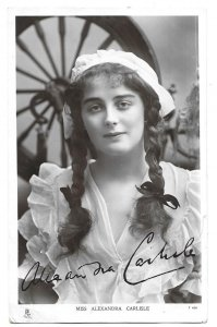 Harrow Wealdstone to Bushey Herts 1906 Tuck's Photo Post Card Alexandra Carlisle
