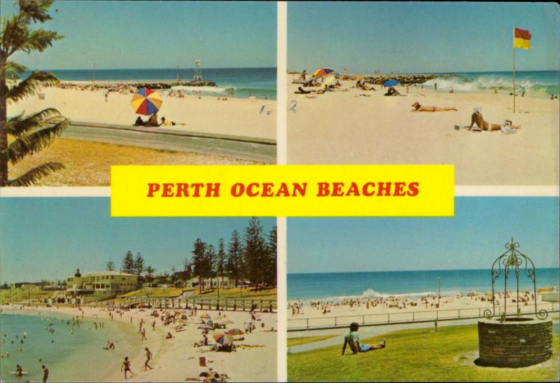 Perth Ocean Beaches City Beach Floreat Cottlesloe Scarborough Australia
