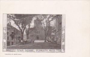 Town Square Plymouth Massachusetts