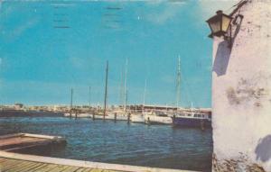 Fishing Boats at Docks, Club de Pesca, Cartagena, Colombia 1974