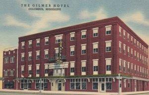 COLUMBUS , Mississippi, 1930-40s ; Gilmer Hotel