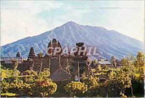Modern Postcard Pura Pura Besakih Induk di Bali