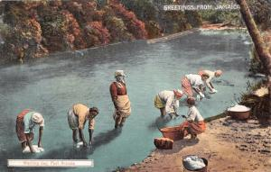 ANTONIO JAMAICA WASHING DAY~DUPERLY & SON #40 PUBLISHED POSTCARD c1910s