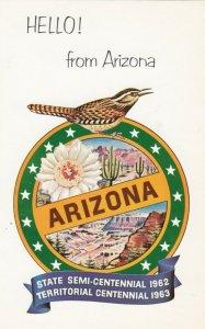 Centennial , Arizona , 1962-63