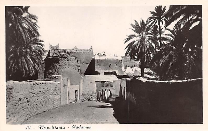 Tripolitania Egypt, Egypte, Africa Gadames Tripolitania Gadames